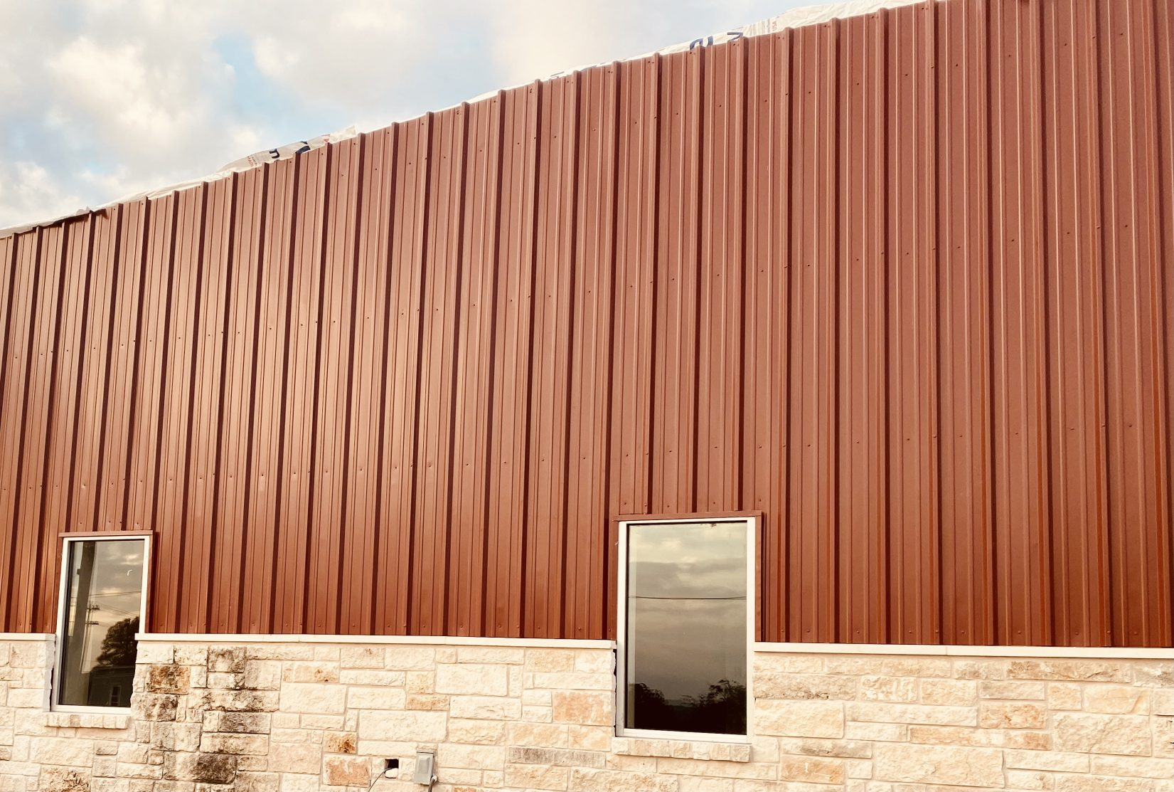 Windows, Doors and Siding at Austin Ridge Bible Church
